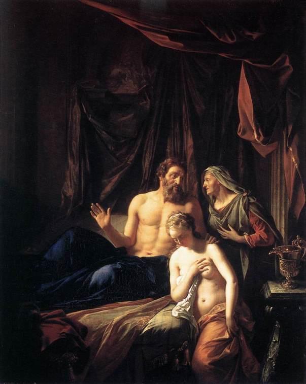 Do you have a vision problem? 'Sarah presenting Hagar to Abraham', Adriaen van der Werff, 1699