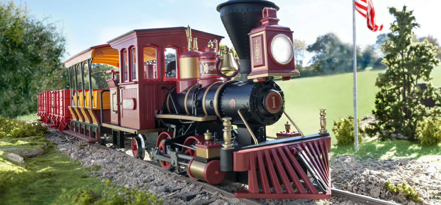 hight resolution of the overwhelming majority of the lgb models is produced in g scale and is thereby 22 5 times smaller than the real life prototype