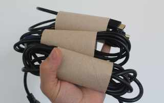 Free and easy cable storage