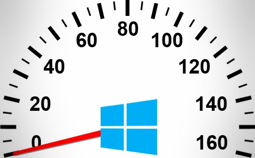 speed up PC speedometer with logo