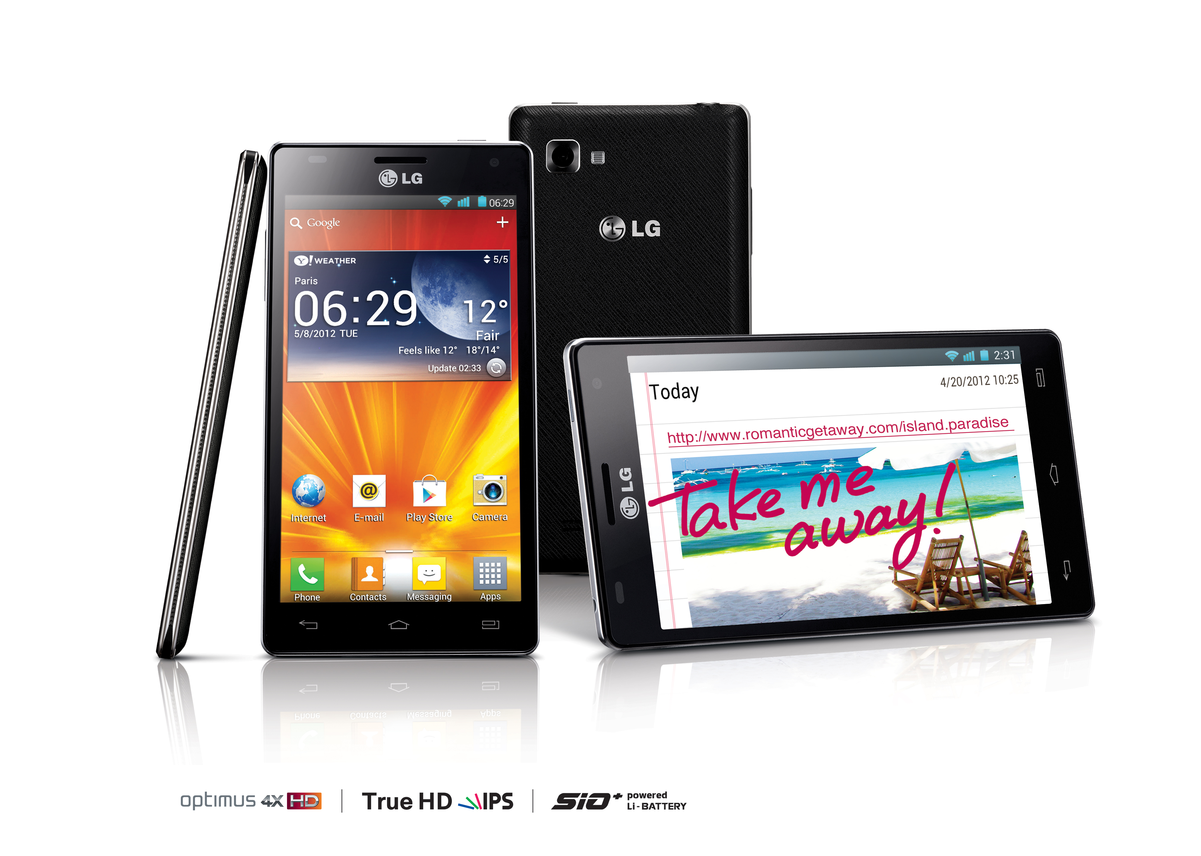 Lg S First Quad Core Smartphone Hits Europe