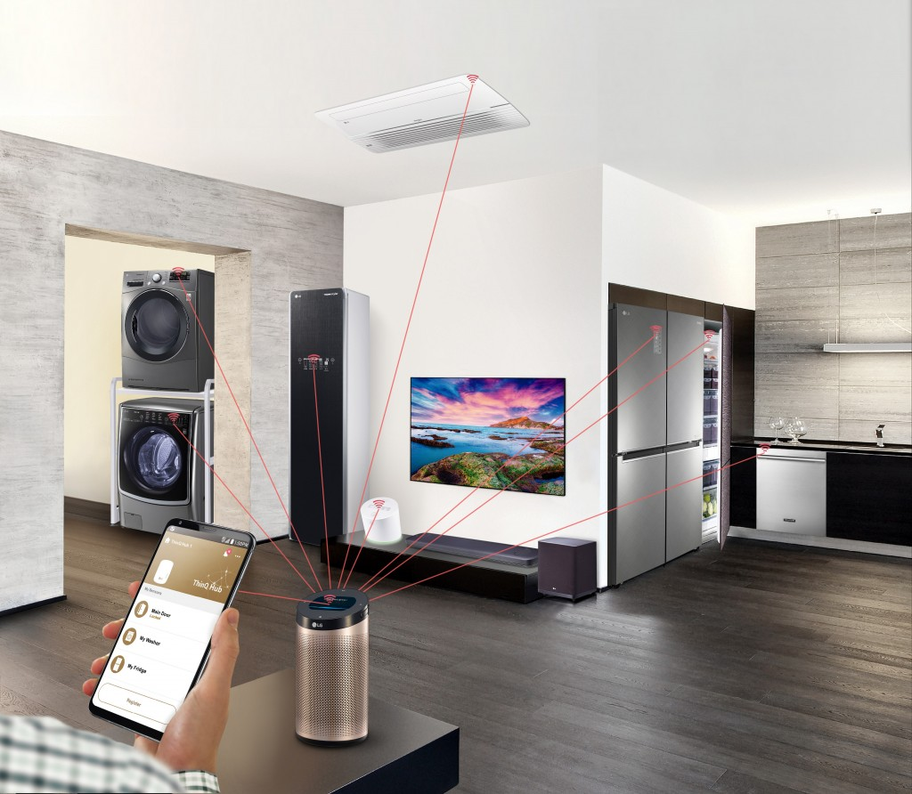 LG SMART ECOSYSTEM SOLUTION TO POWER GROUNDBREAKING HOME