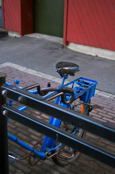 Cykel. Fotograf Lars-Göran Norlin