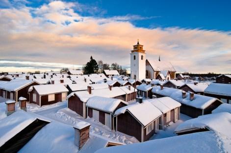 Kyrkbyn i Gammelstad, Luleå