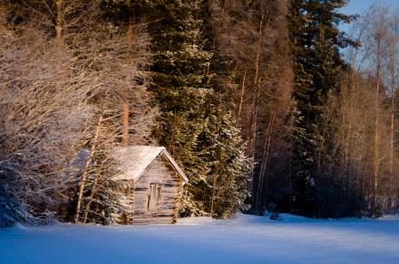 A barn.