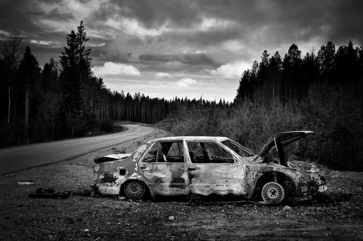 Utbrunnen bil © Fotograf Lars-Göran Norlin