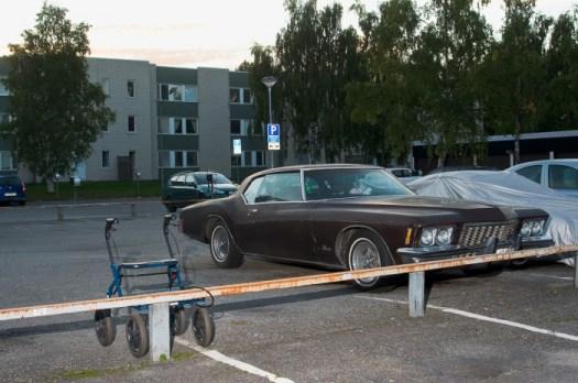 Parkering, Mariehem, Umeå. Fotograf Lars-Göran Norlin