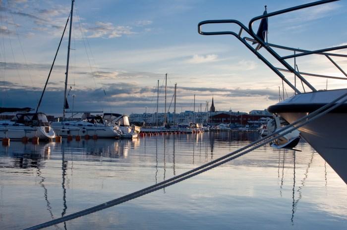 Ettans båthamn, Luleå.