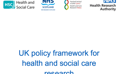 New UK Policy Framework for Health & Social Care Research