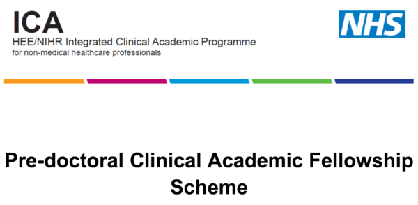 HEE/NIHR Pre-doctoral clinical academic fellowships