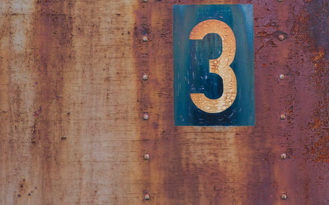 Yr 1 OT: The rule of 3