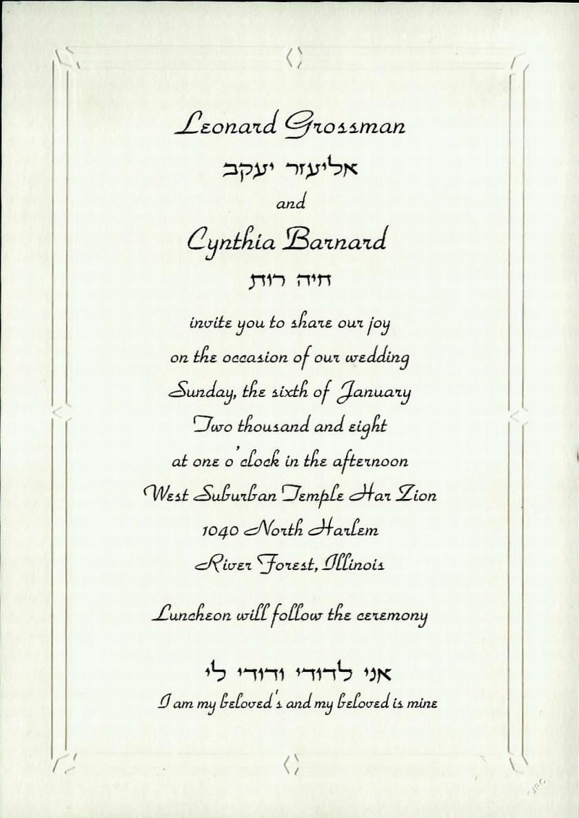 Cindy And Lens Wedding Invitation Program Next Slide Monicamarmolfo Images