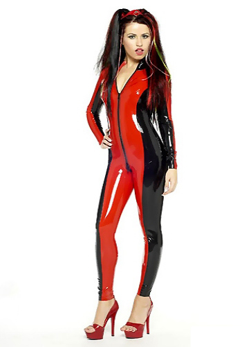 TWO COLOR CATSUIT