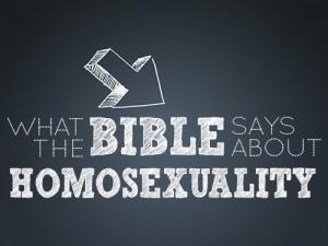 Was sagt die Bibel über Homosexualität