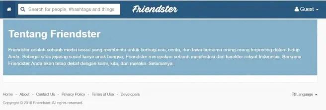 Friendster - Tentang Kami