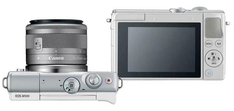 Canon EOS M100 - Tombol