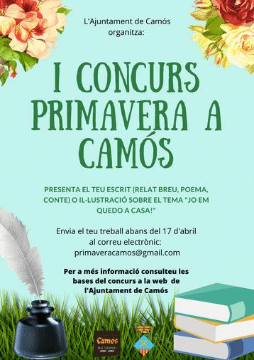 "I CONCURS ""PRIMAVERA A CAMÓS"""