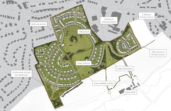 plumb park masterplan landscape