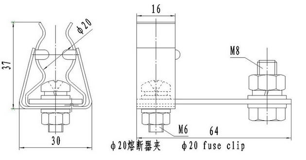 Fuse and accessories_Wuxi Lanhong Electric Co., Ltd.