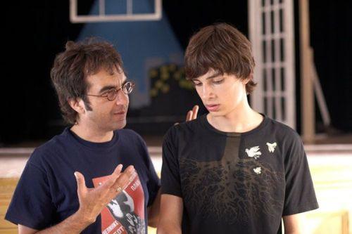 Atom Egoyan ici avec Devon Bostick, un directeur d'acteur attentif