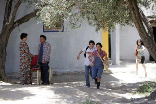 Farida Khelfa, Maher Kamoun et Hafsia Herzi