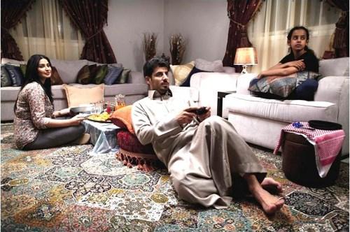 Wadjida avec sa maman et son papa, en quête d'une seconde épouse...