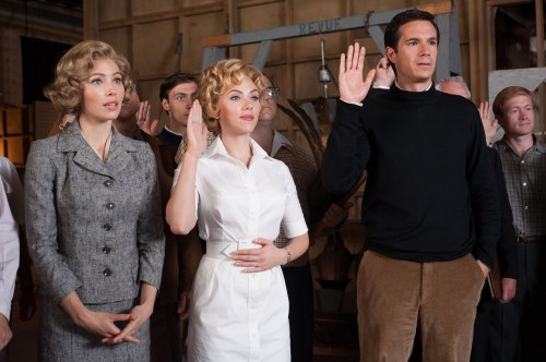 Jessica Biel, Scarlett Johansson, James D'Arcy ( Anthony Perkins, pas mal !...)