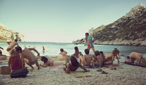 Même sur la plage, les règlements de compte