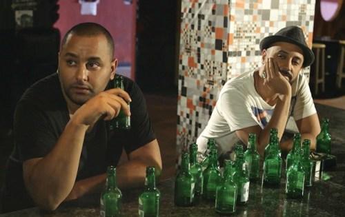 Réalisateur et comédien, Younes Yousfi ( à gauche ) est plein de promesses.