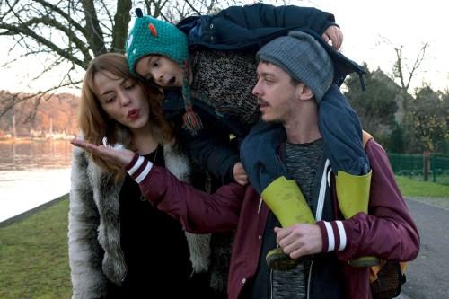 Lucas se verrait bien vivre aux côtés d'Audrey et de son fils...