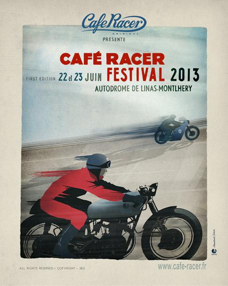 Café Racer Festival 2013 affiche