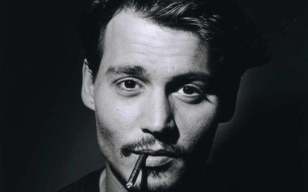 Johnny Depp moustache