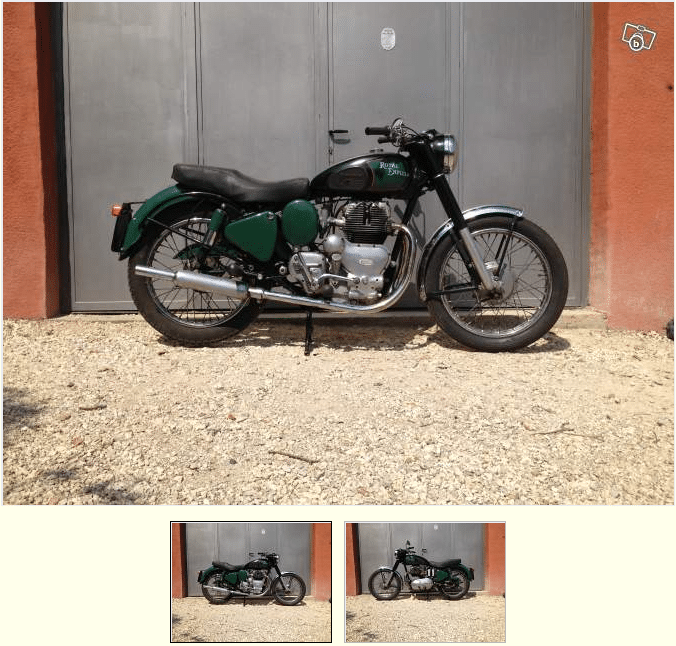 Royal Enfield 500 Twin