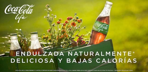 Affiche Publicitaire coca cola life