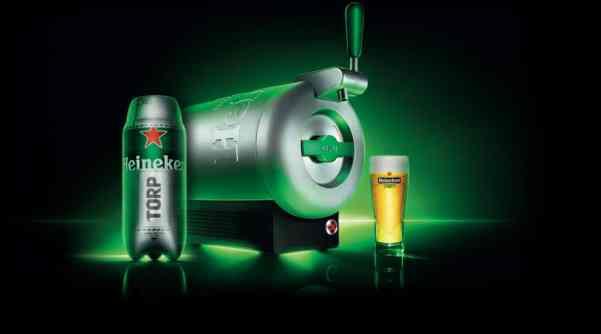 Heineken réinvente la bière pression à domicile