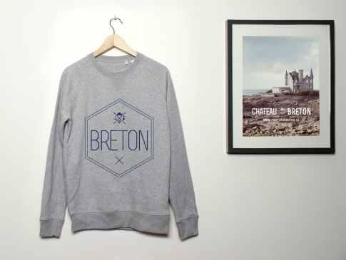 Sweat BRETON par Château Breton