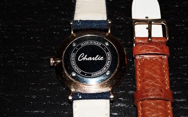 MONTRE HOMME CHARLIE WATCH ET SES BRACELETS INTERCHANGEABLES