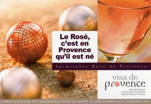 Le rosé c'est en Provence qu'il est né !
