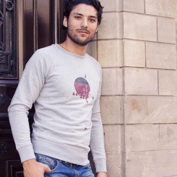 Sweat-shirt homme Motifs Boulbar