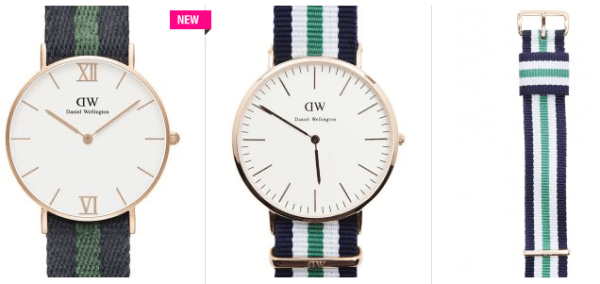 belles montres vintage de Daniel Wellington