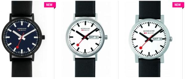 Les montres Mondaine
