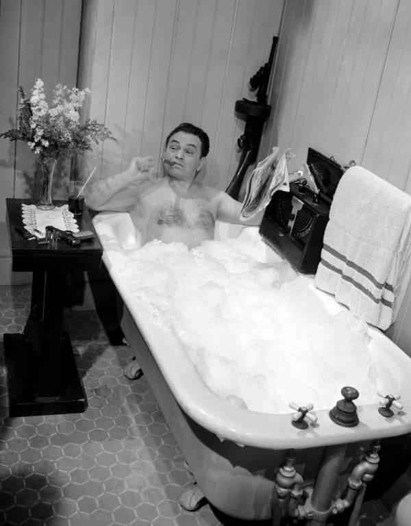 Prendre à bain et se détendre avant un rencart
