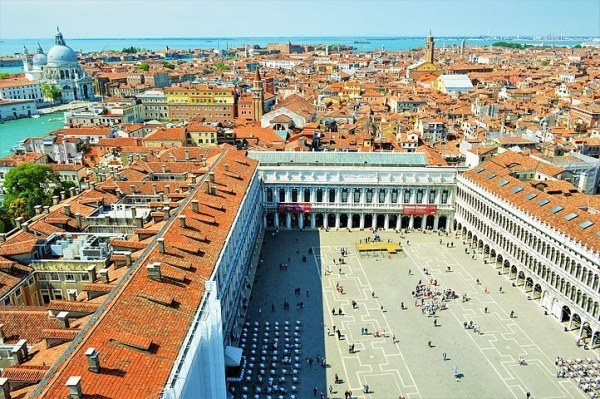 Photo de Venise: la place Saint-Marc