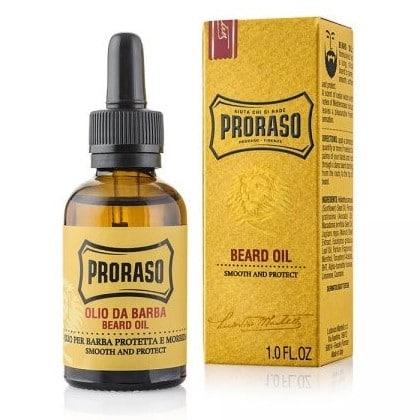 Entretien barbe: l'huile hydratante Proraso