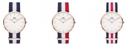 bracelet-tissu-montre-daniel-wellington-homme