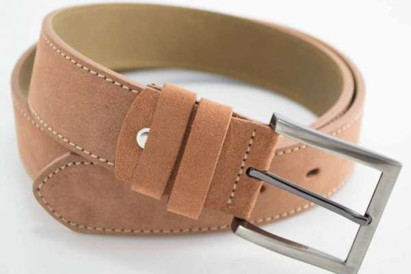 ceinture-daim pour homme