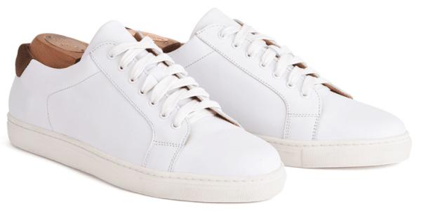 chaussure-homme-été-blanche