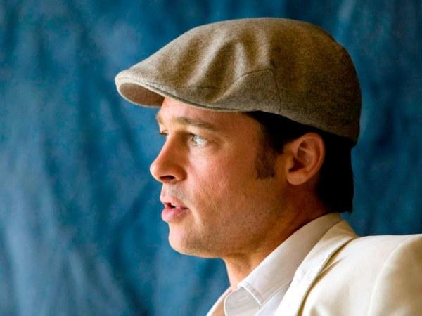 Brad Pitt en casquette homme