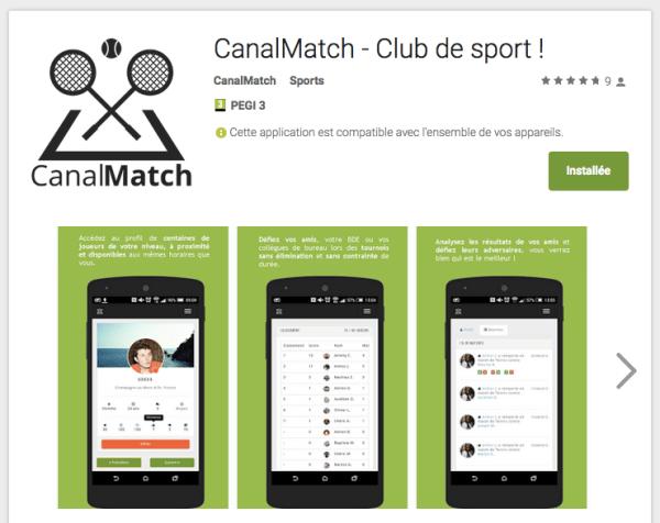 CanalMatch