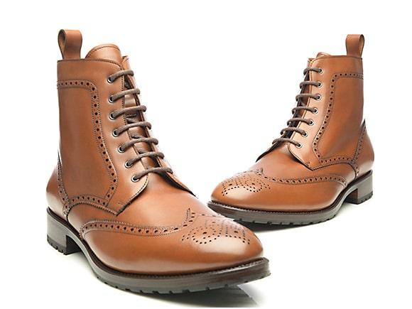 Derby-boots-pour-homme-marron